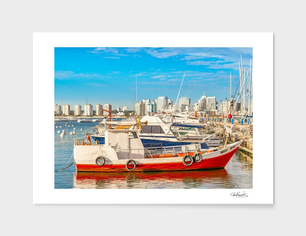 Punta del Este Port, Maldonado, Uruguay