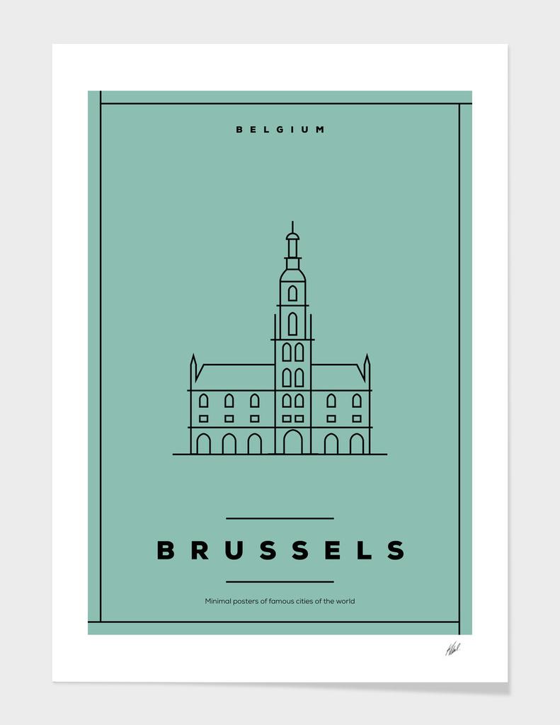 Brussels Minimal Poster