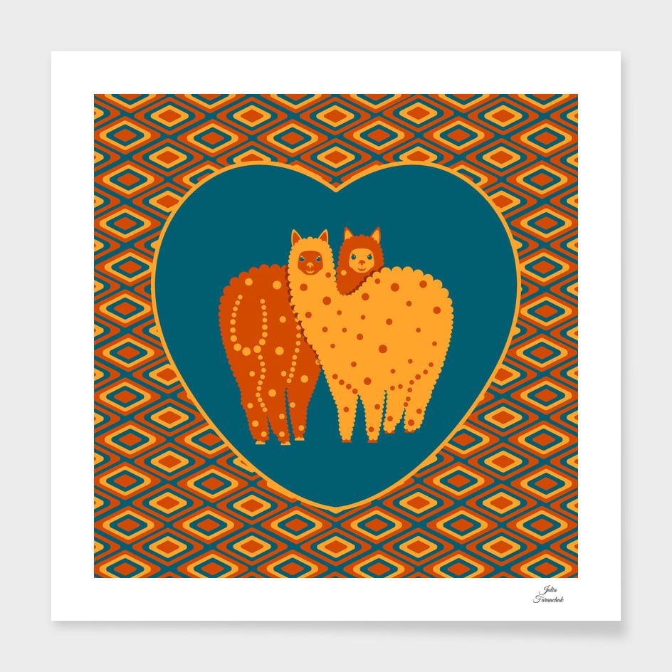 Alpacas - it's love