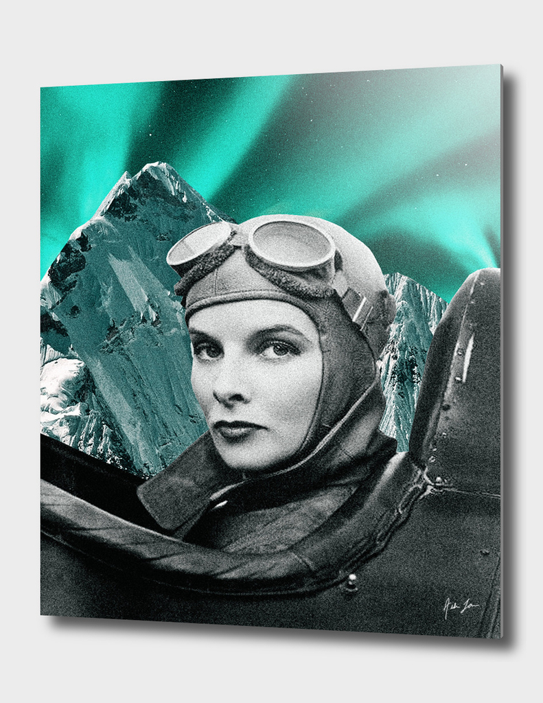 Northern Lights Pilot Print
