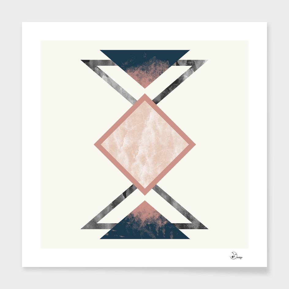 Geometric Mixed Materials