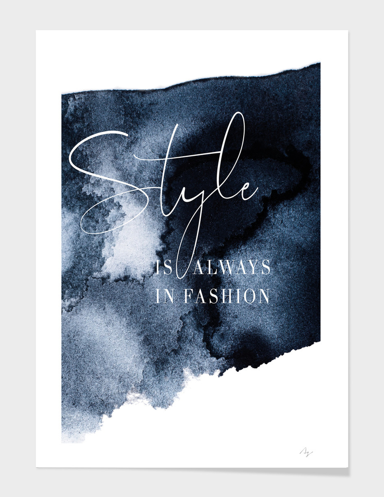 Style is always in fashion