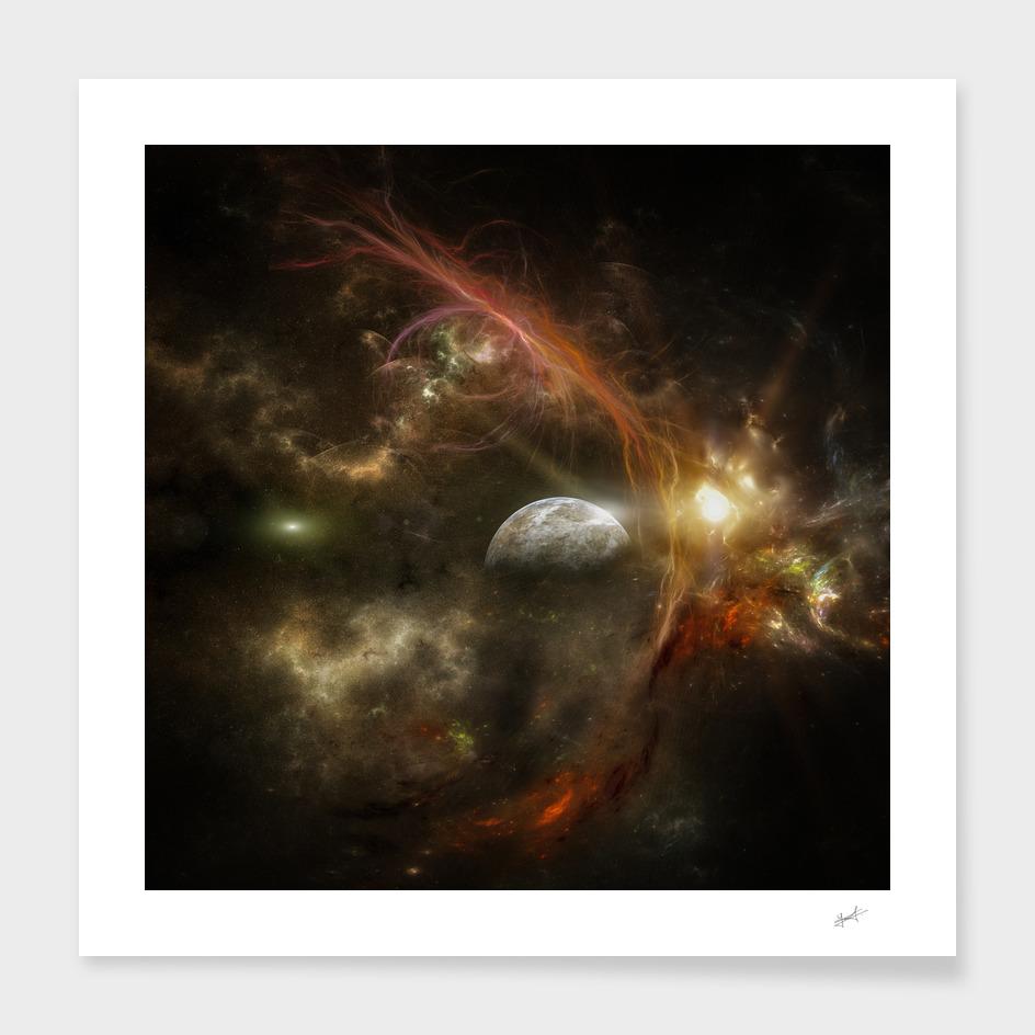 Bright nebula