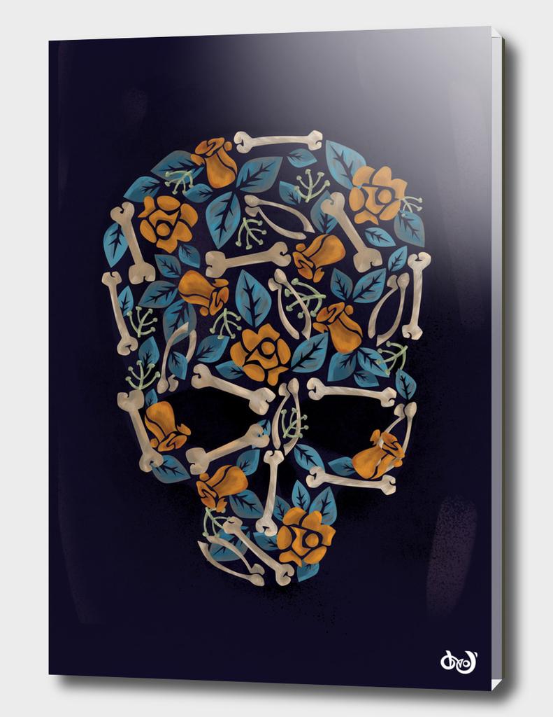 flowers and bones