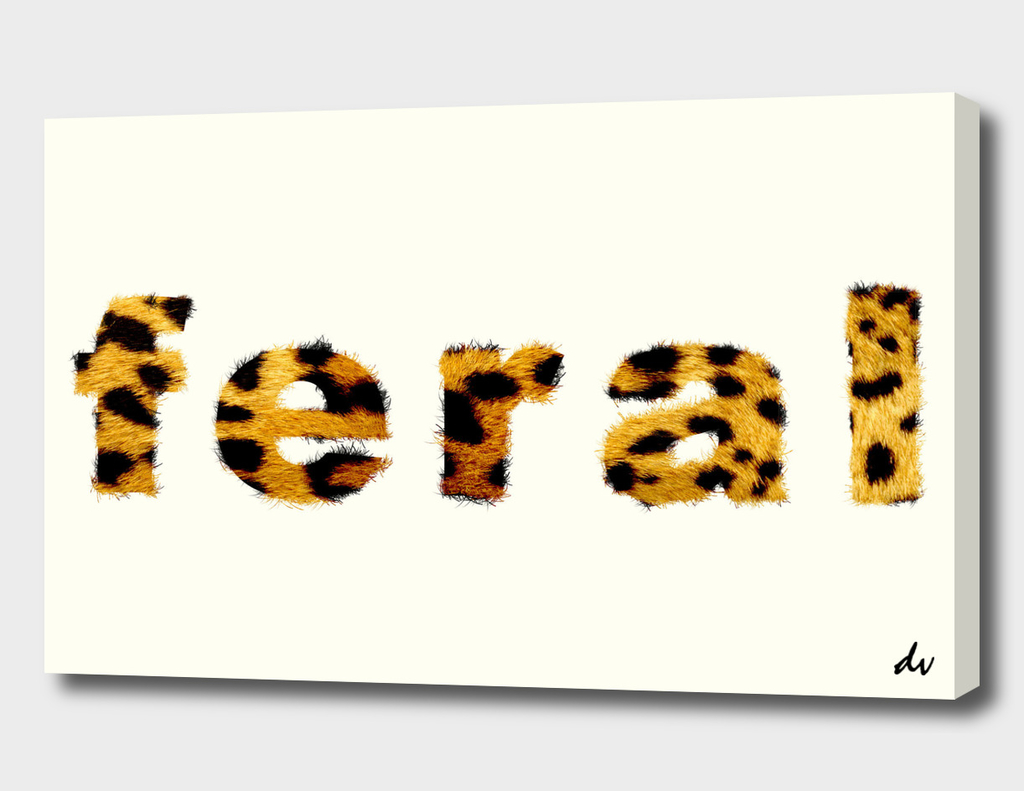 Feral Typography