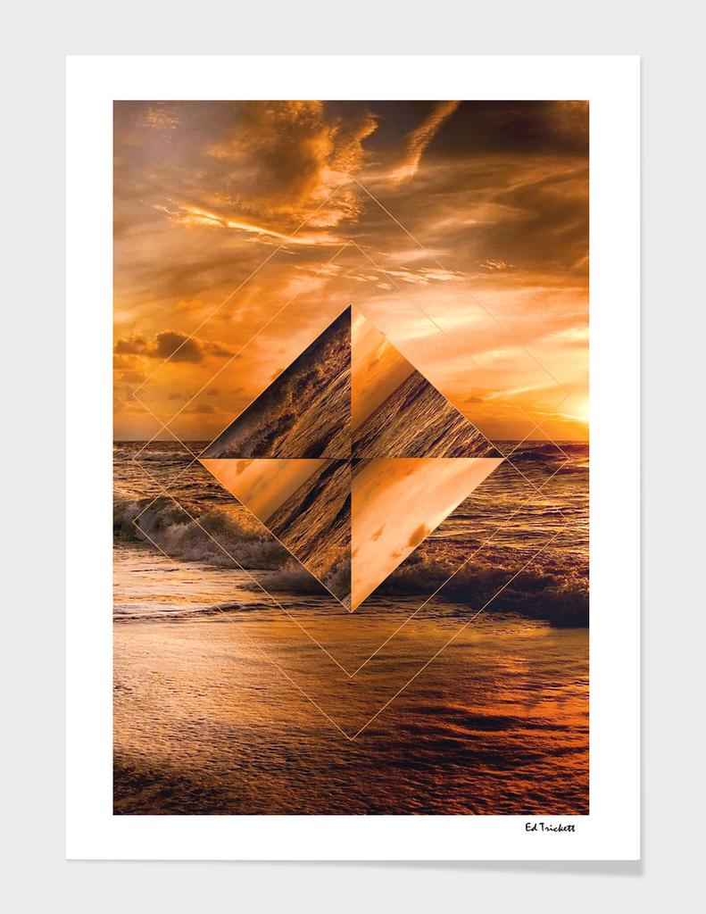 Golden Ocean Sunset