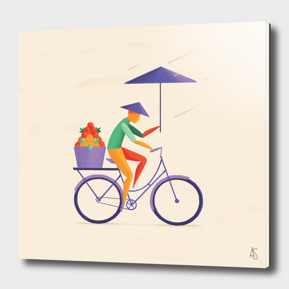 Sri Lanka -  Cyclist