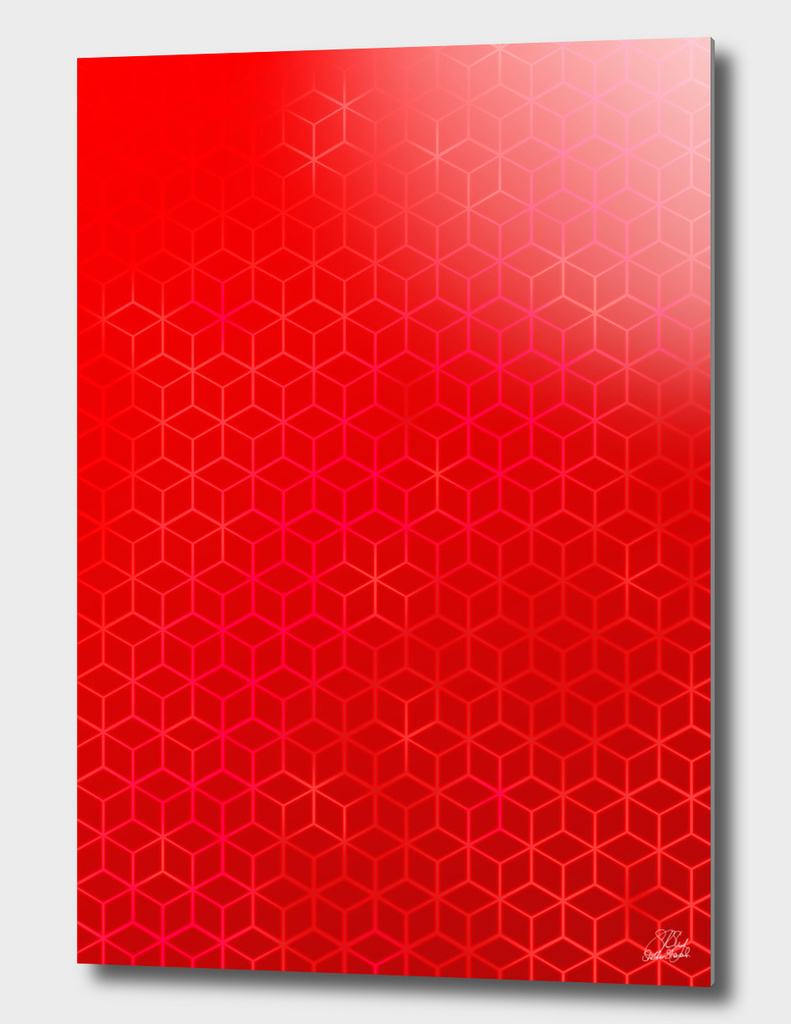 Lush Red Hexas