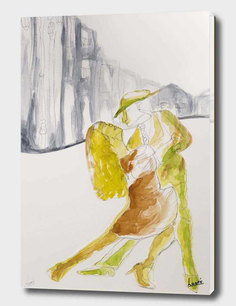 Tango danser