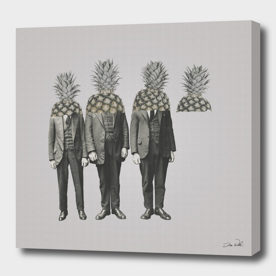 Pineapple Mugshot