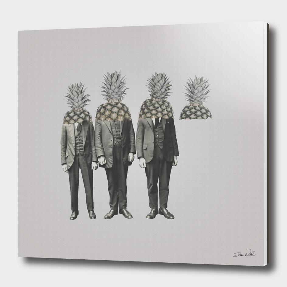 Pineapple Mugshot