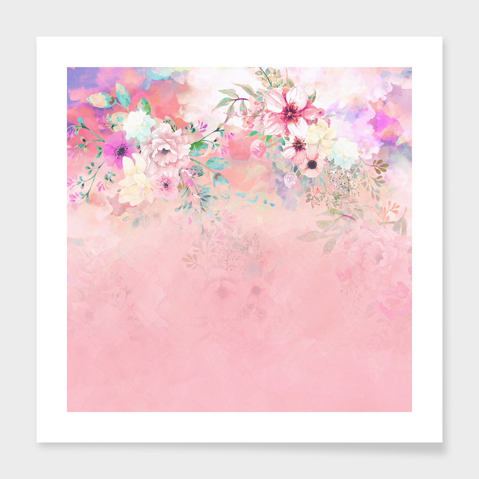 Botanical Fragrances in Blush Cloud-Ιmmersed