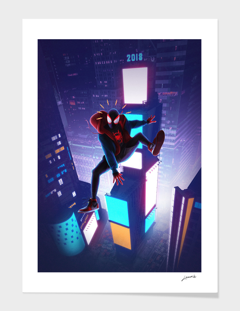Miles into the Spider-Verse