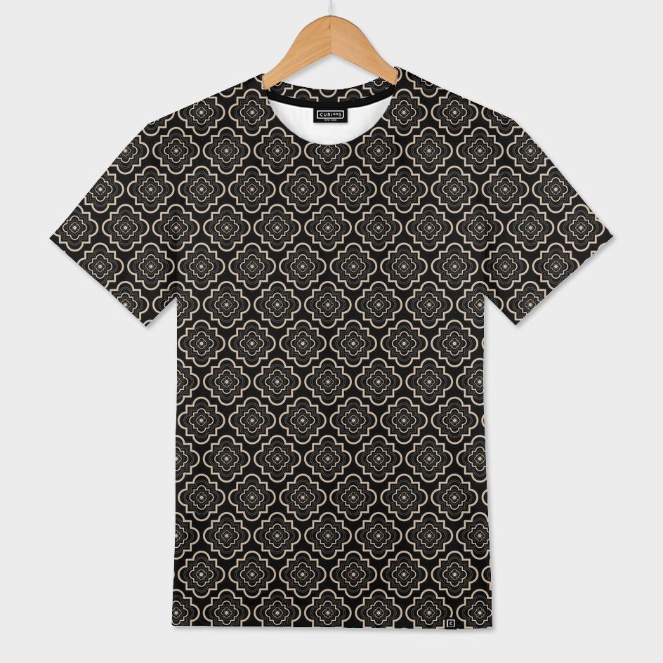 nude pattern on black