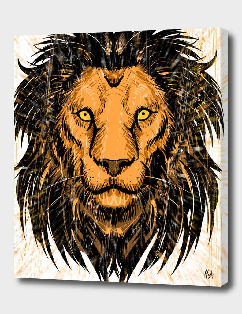Lion Artwork I