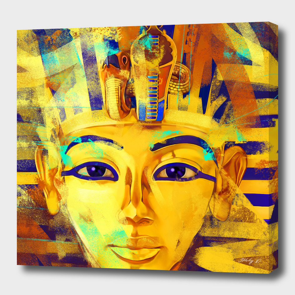 Pharaoh Tutankhamun - Gold Boy