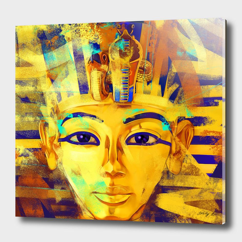 Pharaoh Tutankhamun - Gold Boy