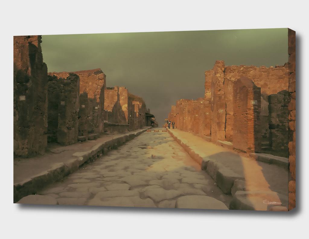 Rocky road to Pompeii