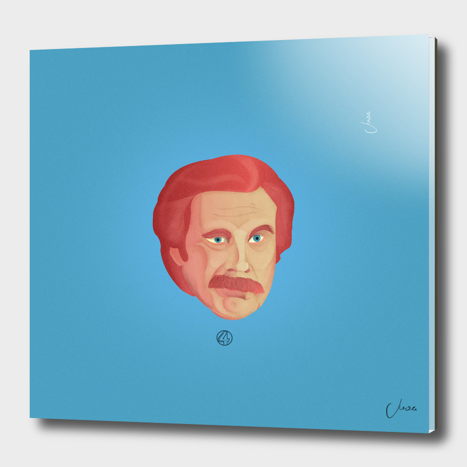Ron Anchorman - Channel 4 Series