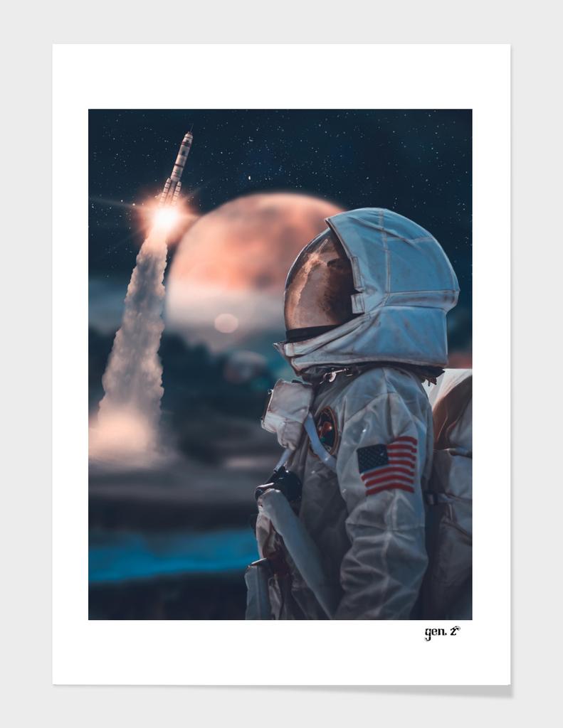 Forgotten Astronaut by GEN Z