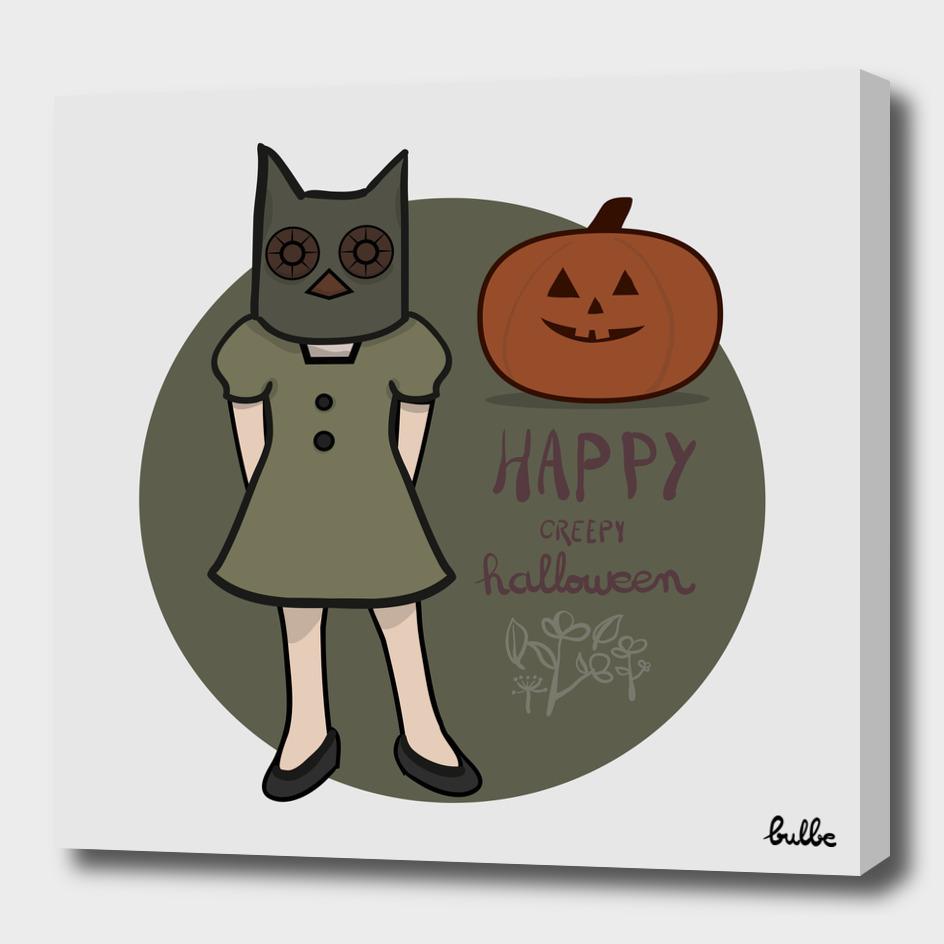 happy creepy halloween