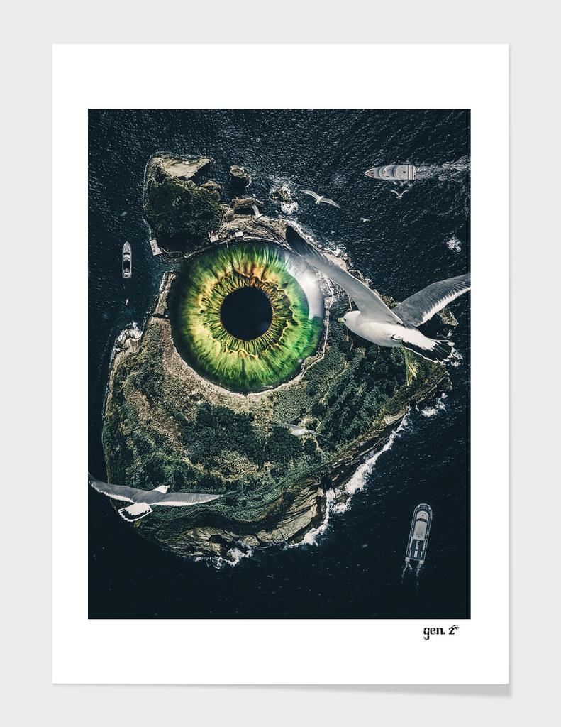 Eye of the sea monster by GEN Z