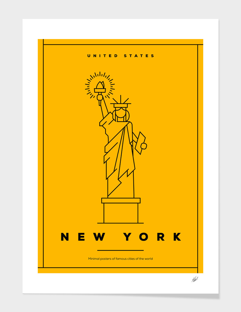 Minimal New York City Posters