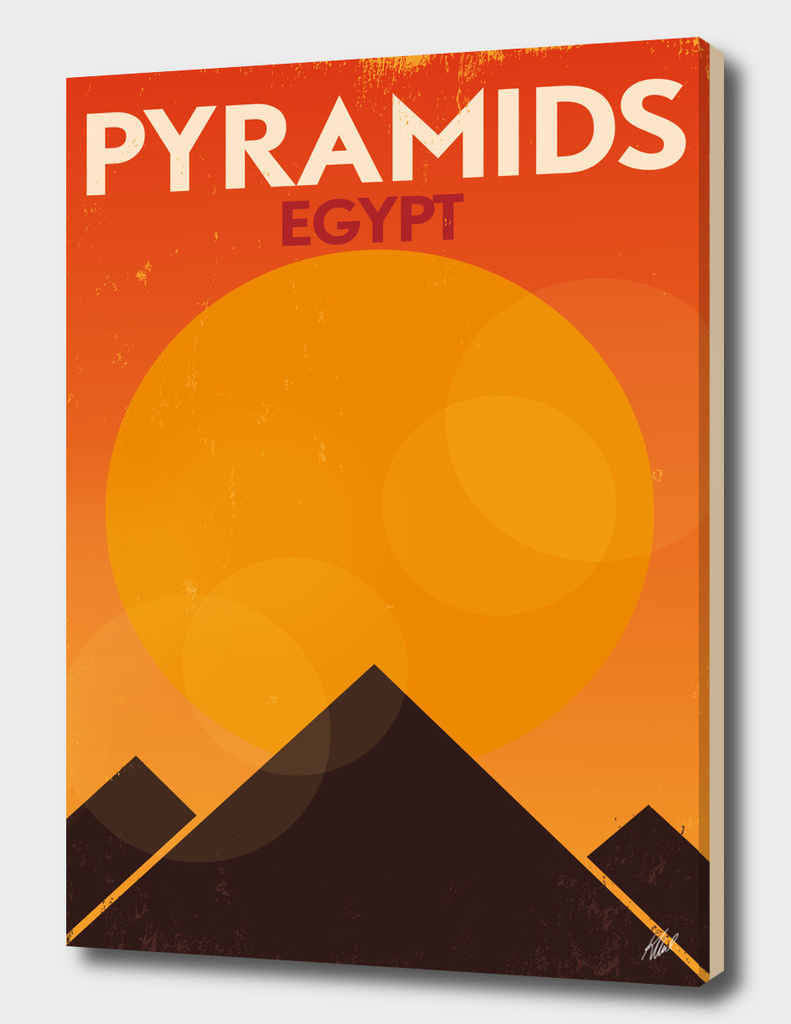 Retro Cairo Poster Design
