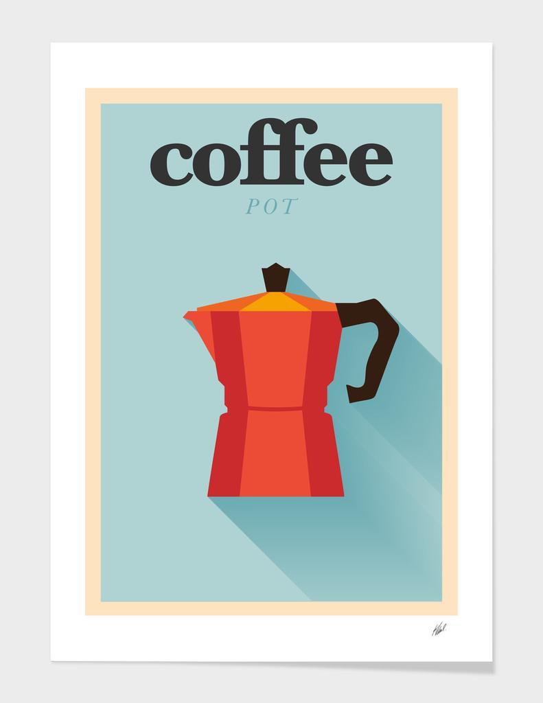 I Love Coffee Pot