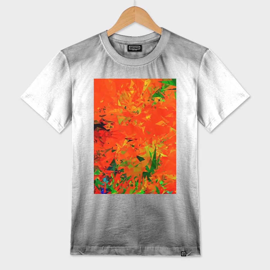 geometric splash abstract