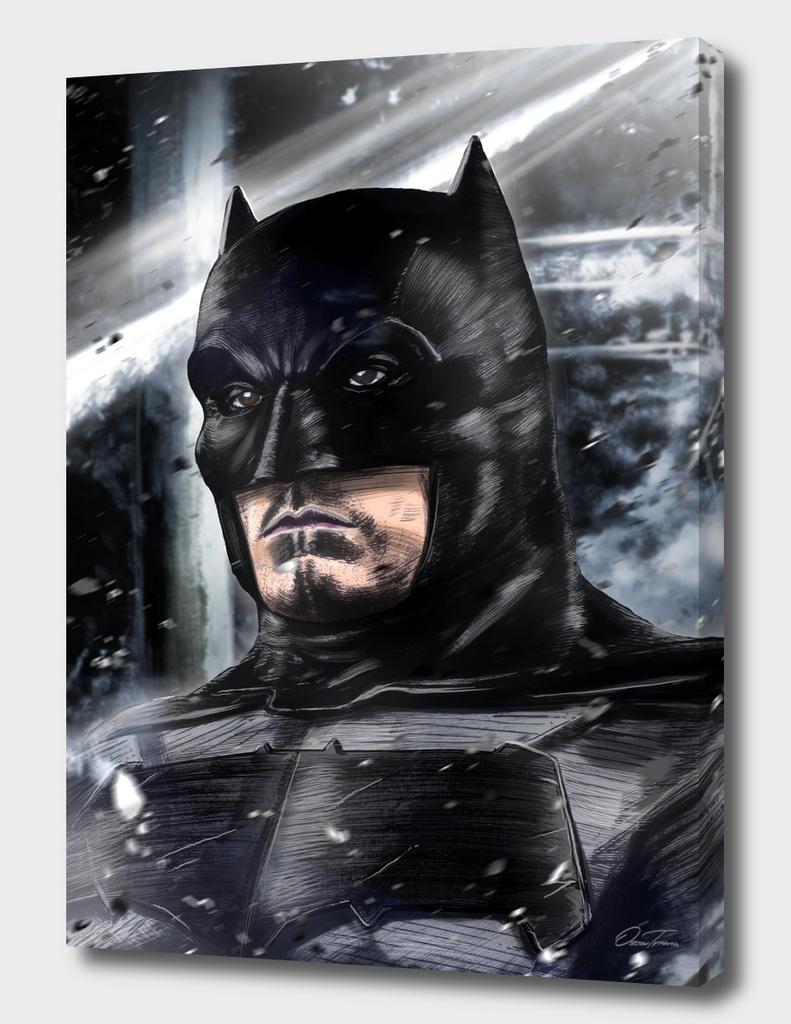 Batman - Ink & Digital Portrait