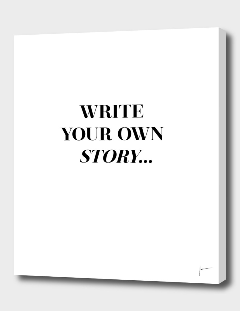 Your Own Story Poster