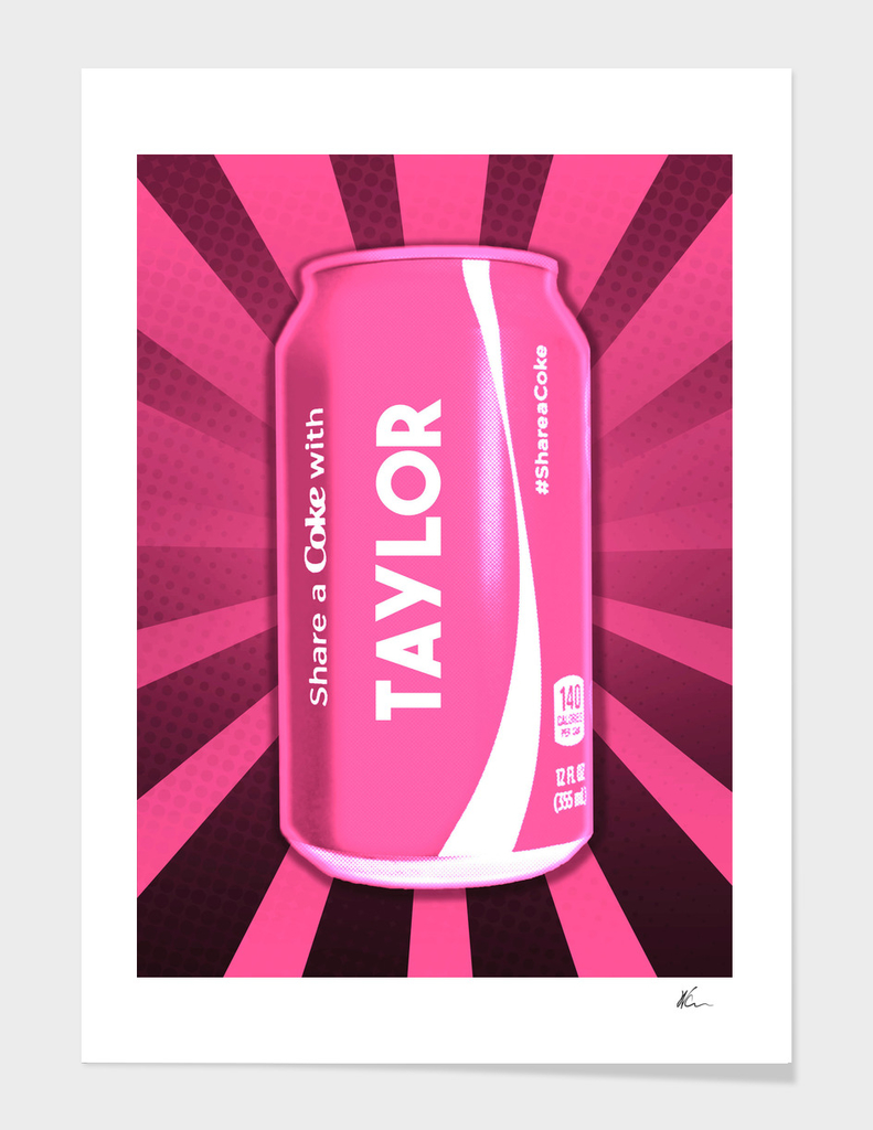 Share a Coke with Taylor Swift | Pop Art