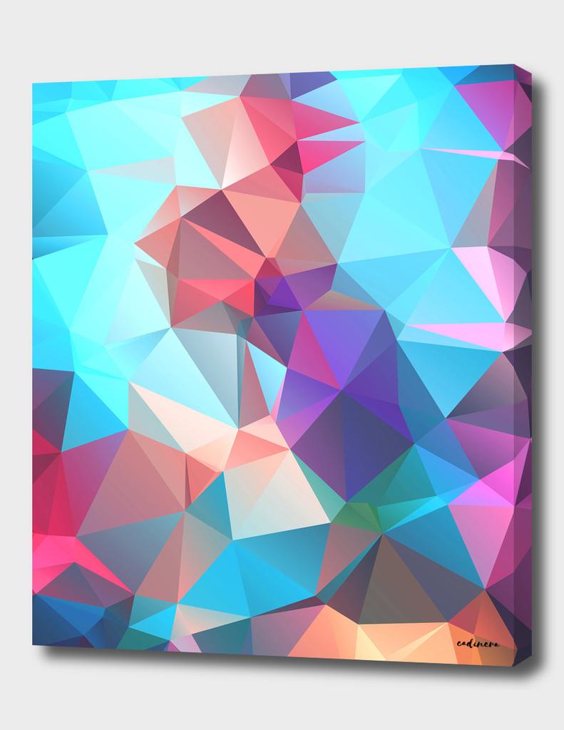 The Key Of Light // Abstract Geometric Polygonal