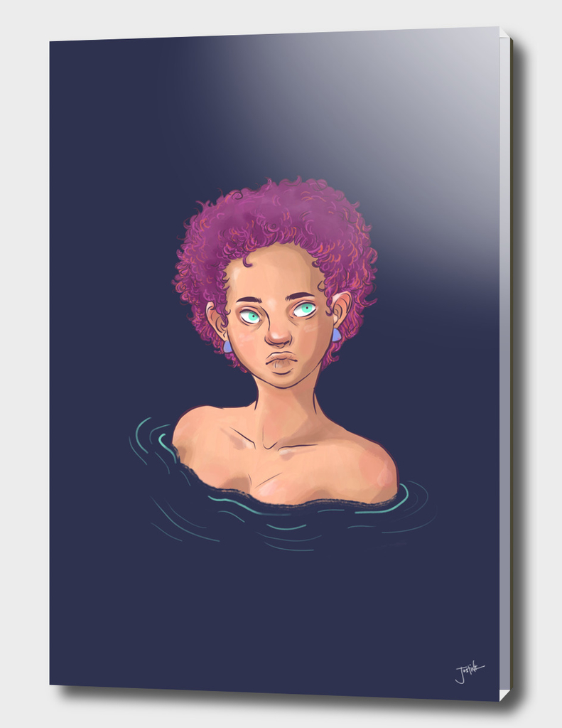 Girl in Water