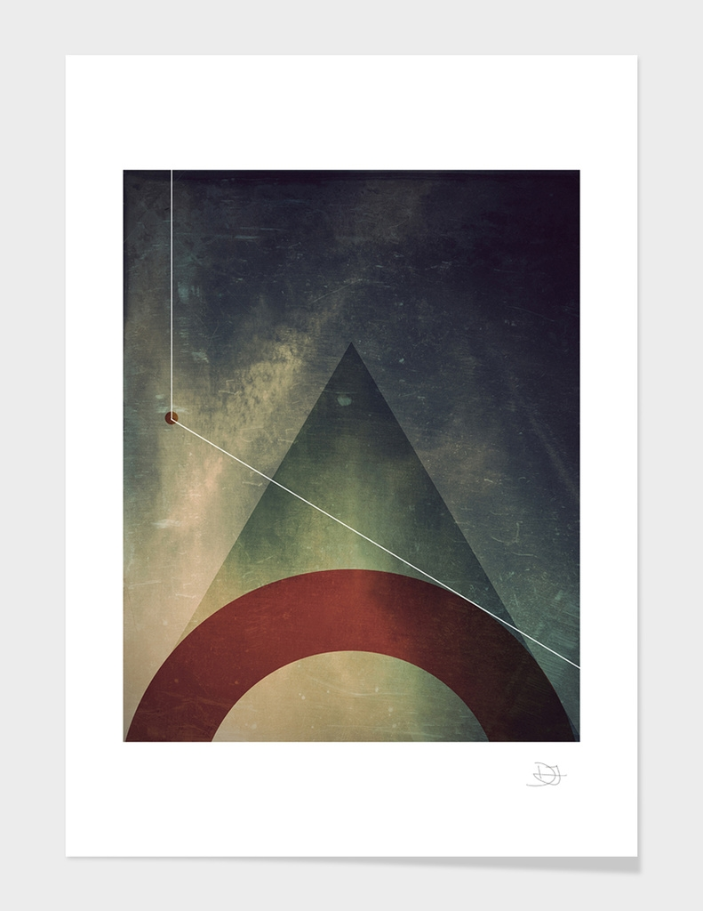 triangle half circle
