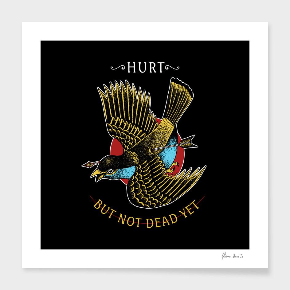 Hurt, but not dead yet