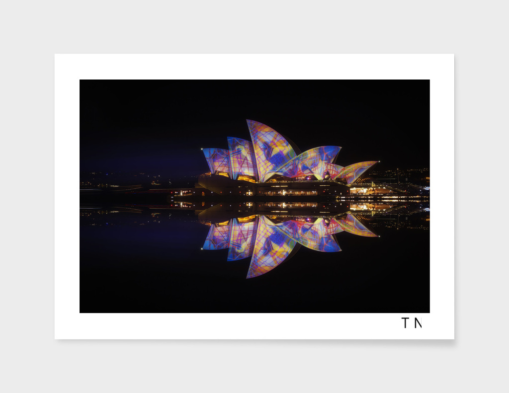 The theme of Sydney Vivid