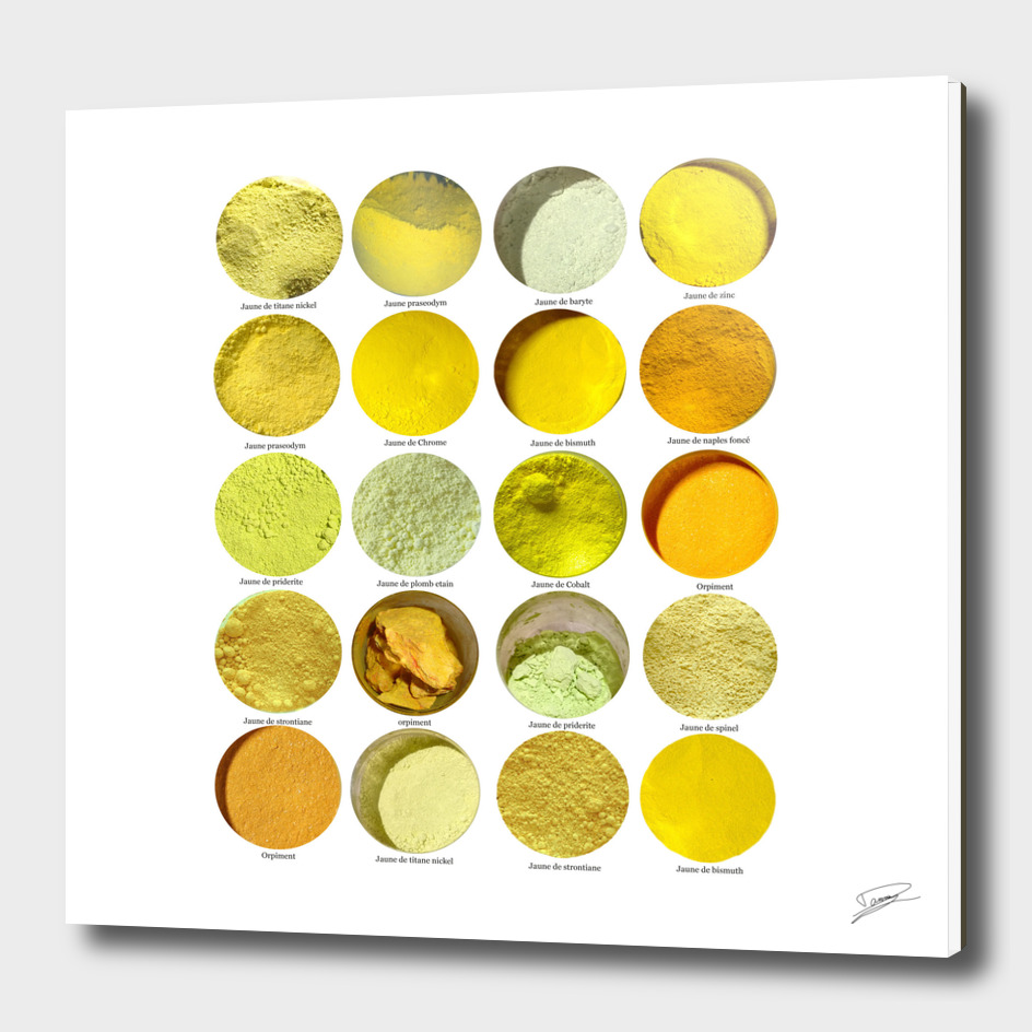 Pigments Jaunes Yellow Pigments
