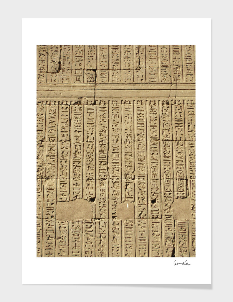 hieroglyphics egypt historically