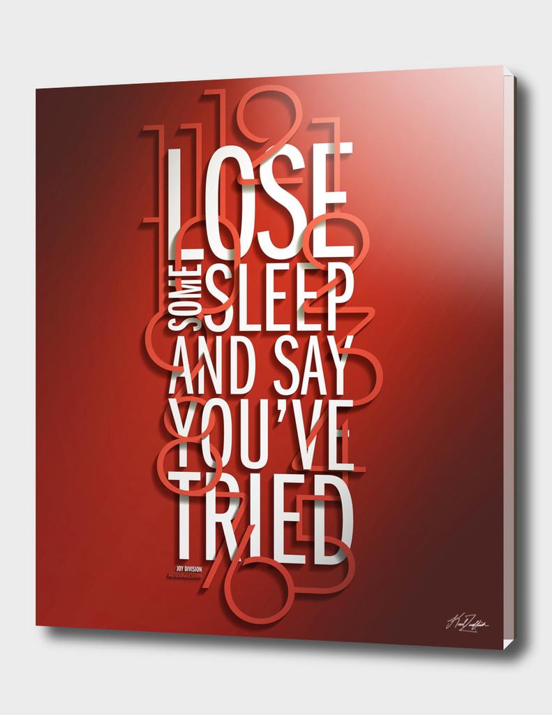 LoseSomeSleep