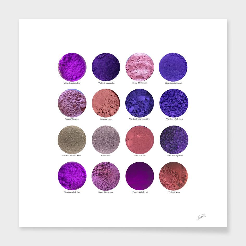 Pigments Violets Purple Pigments