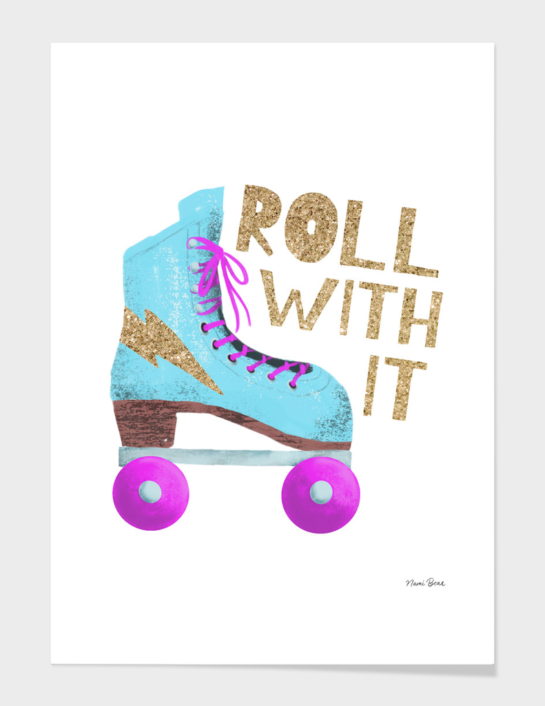 Roll With It | Vintage Roller Skate