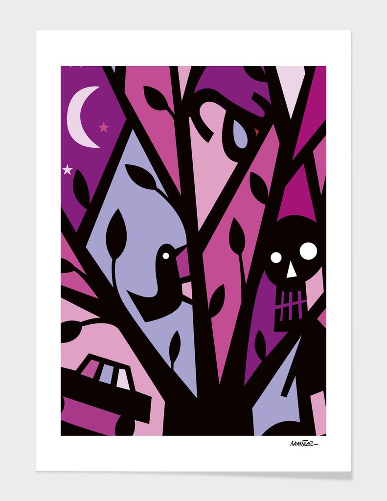 noche purpura