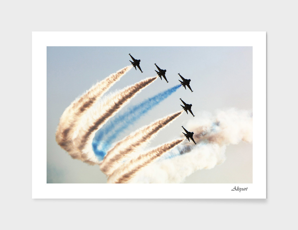 airshow aircraft sky
