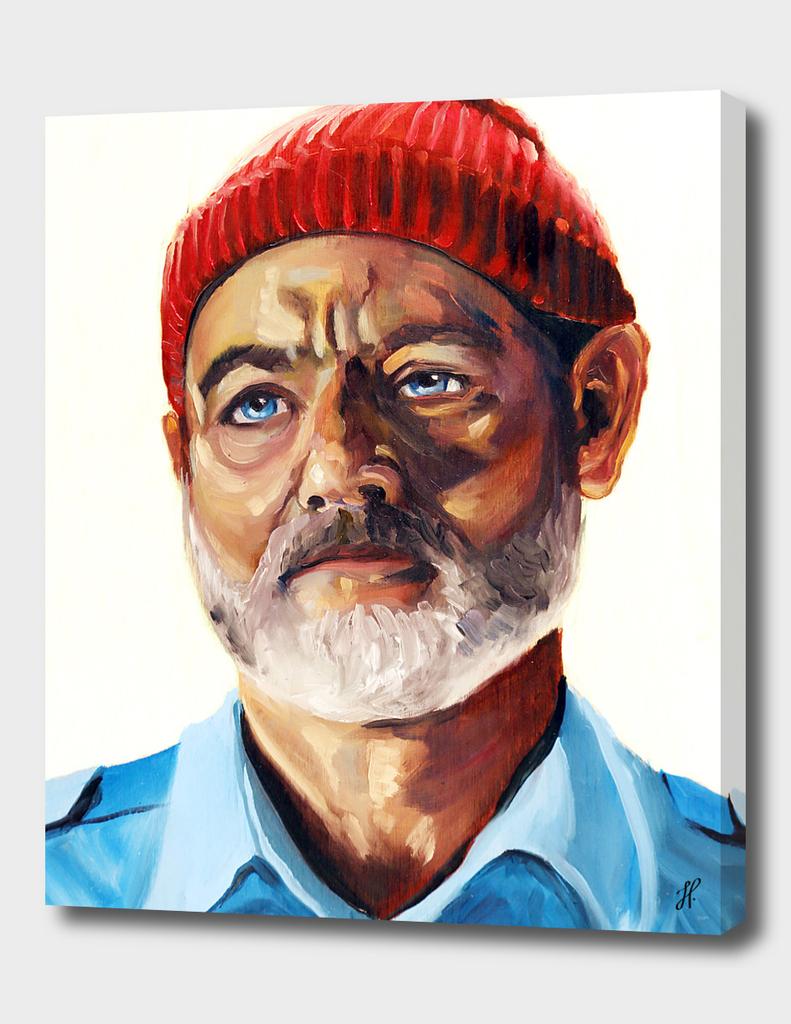 Portrait of Captain Steve Zissou