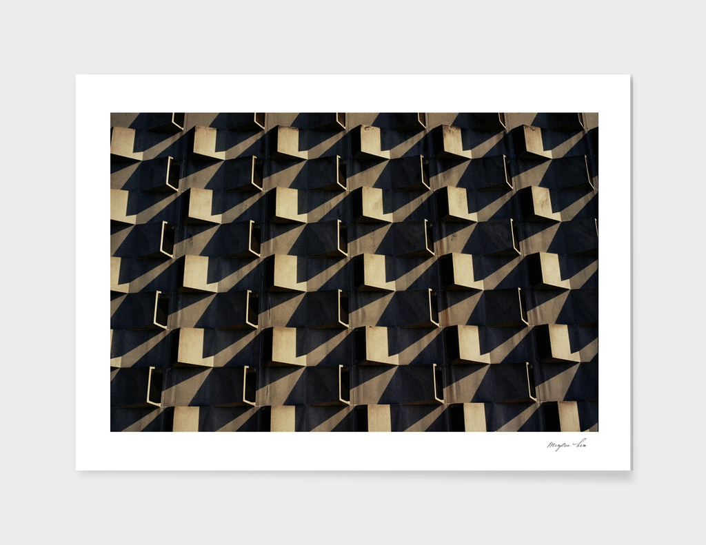 Checkered Façade