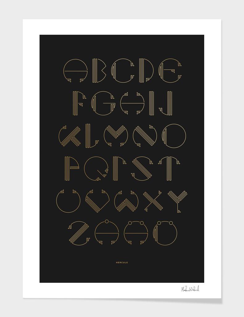 Hercule - Typography