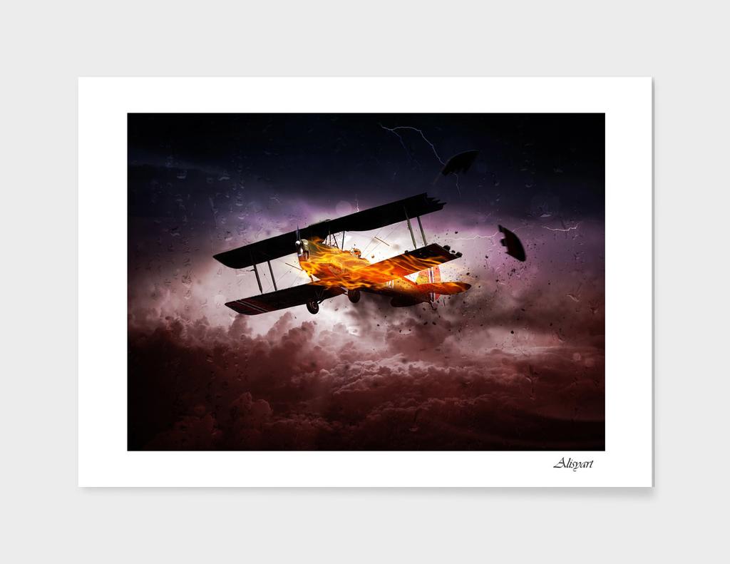 aircraft fire