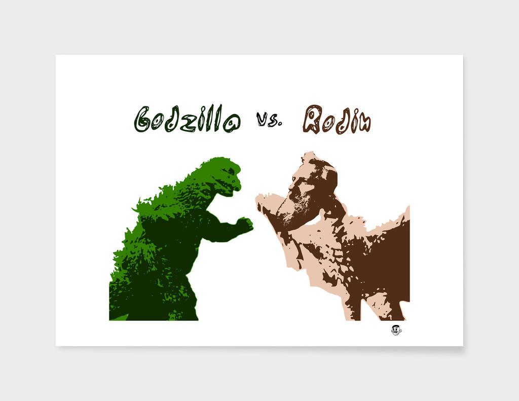 Godzilla vs Rodin